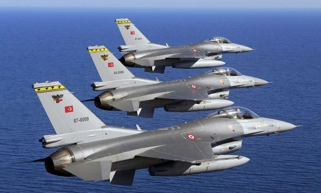 Türkiyə PKK mövqelərinə aviazərbələr endirib.