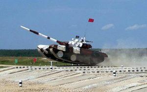 Tankçılarımız Moskvaya getdi