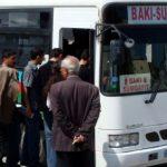 Bakı-Sumqayıt avtobuslarında gediş haqqı 60 qəpiyə endirilib