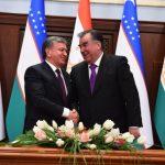 Tacikistan prezidenti son 17 ildə ilk dəfə Özbəkistana səfər edib