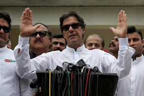İmran Xan Pakistanın yeni baş naziri kimi and içib