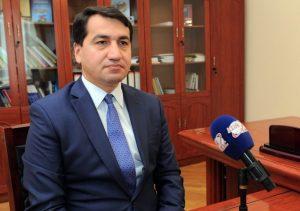 Prezident Administrasiyasının xarici siyasət məsələləri şöbəsinin müdir müavini Hikmət Hacıyev