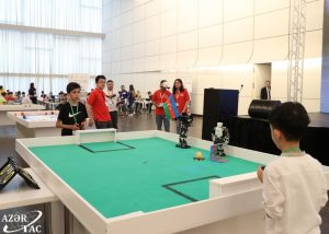 Dünya Robot Olimpiadasının azərbaycanlı finalçıları üçün Daşkəsəndə düşərgə təşkil ediləcək