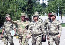 Müdafiə naziri general-polkovnik Zakir Həsənov