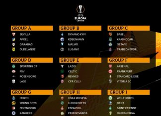 UEFA Avropa Liqasının 2019-2020-ci il mövsümünün qrup mərhələsi