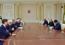 İlham Əliyev ATƏT-in Minsk qrupunun həmsədrlərini qəbul edib