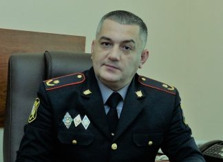Bakı Şəhər Baş Polis İdarəsinin (BŞBPİ) Mətbuat Xidmətinin rəisi, polis mayoru Elşad Hacıyev