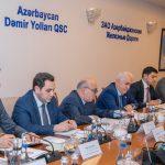 Azərbaycan və Gürcüstan dəmir yolları rəhbərləri arasında görüş keçirilib