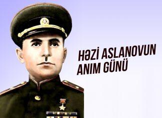 İki dəfə Sovet İttifaqı Qəhrəmanı, general-mayor Həzi Aslanov