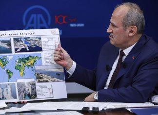 Türkiyənin Nəqliyyat və İnfrastruktur naziri Mehmet Cahit Turhan