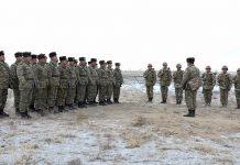 Naxçıvan Qarnizonu qoşunlarında toplantılar